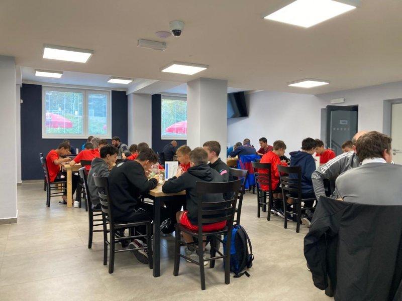 Soustředění fotbalistů