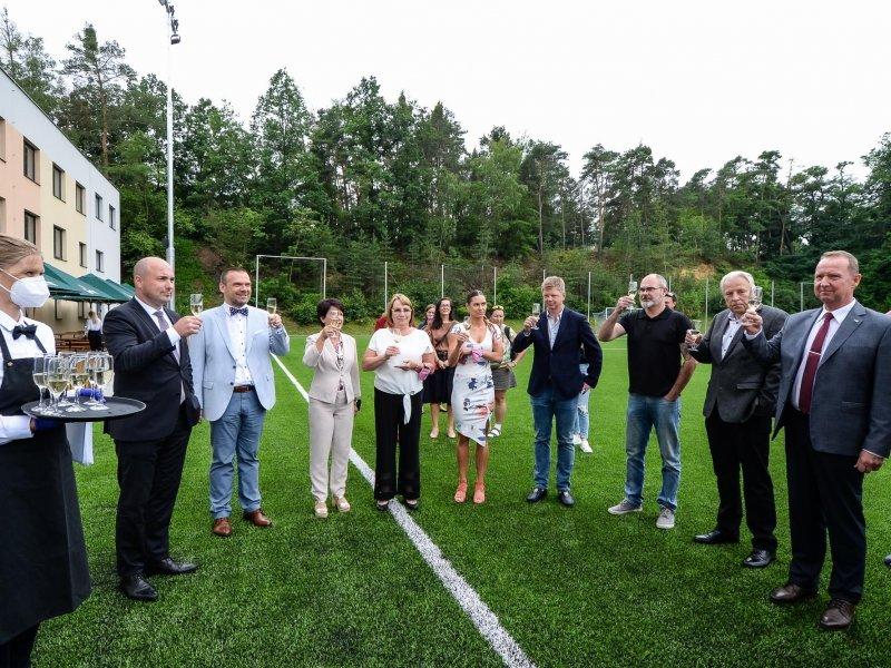 Slavnostní otevření Sportovního areálu Prokopávka