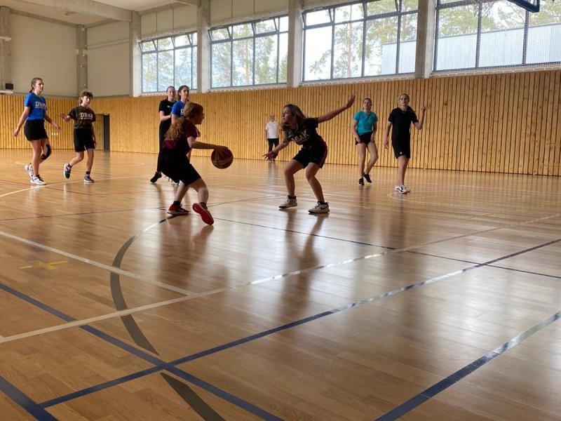 Basketbalový trénink